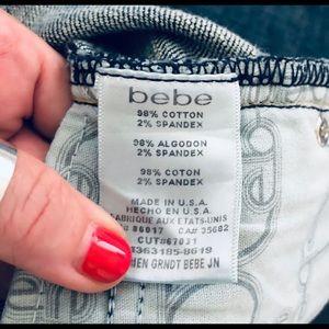 bebe Jeans - Bebe Carmen Jeans Tri Color Crystals Size 30